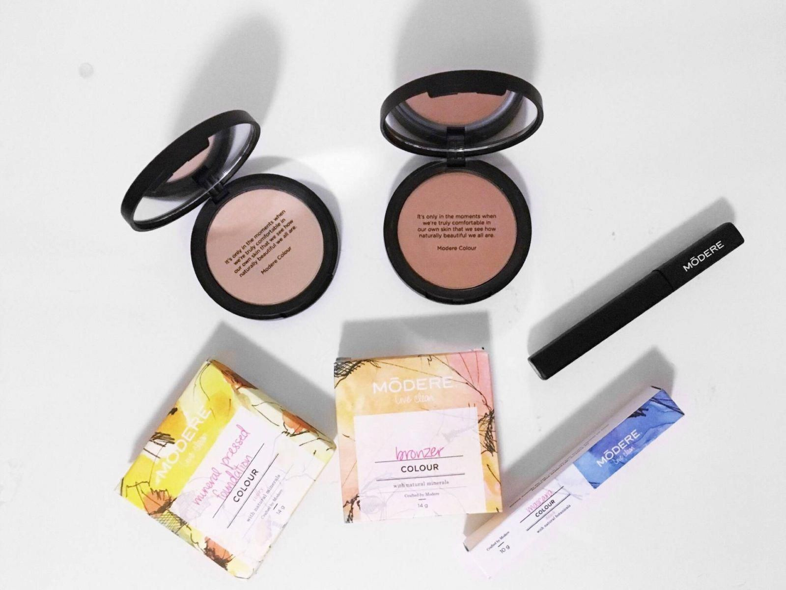 Certified Organic Makeup with Modere Colour the caryl
