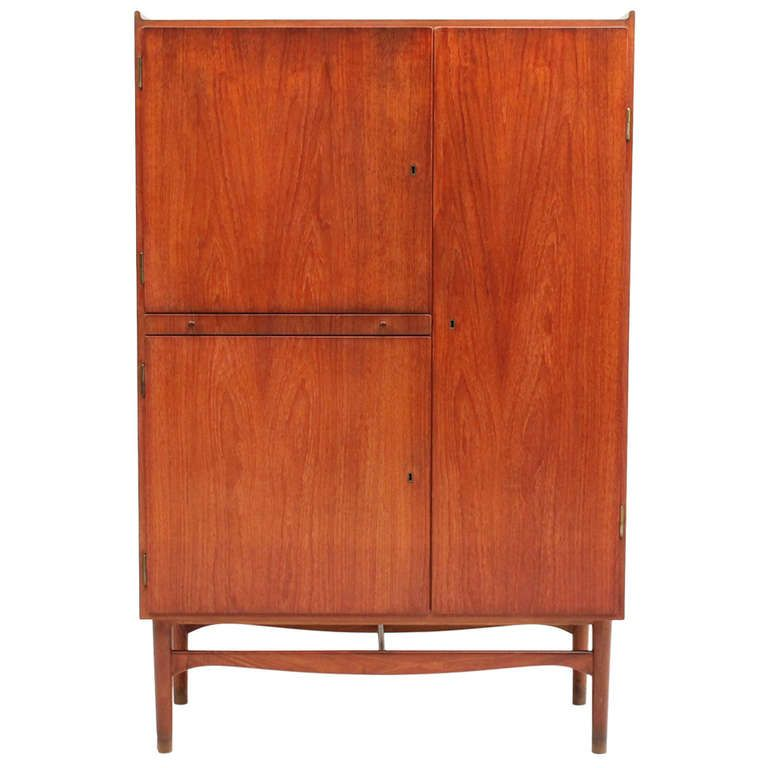Beau Vintage Teak Cabinet By Finn Juhl, Denmark | Modern Cabinets, Furniture  Storage And Teak