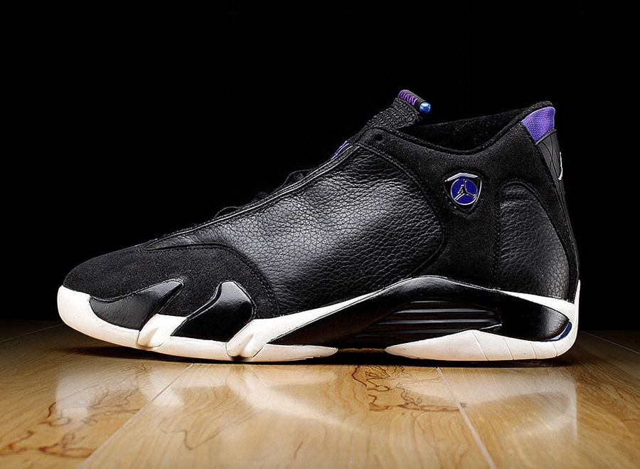 online retailer b1e72 0b75b Ray Allen's Air Jordan 14 PE for the '98-'99 Season ...