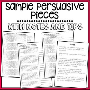 Sample Persuasive Pieces 3 Examples Including Persuasive Persuasive Text Persuasive Writing Persuasive Letter