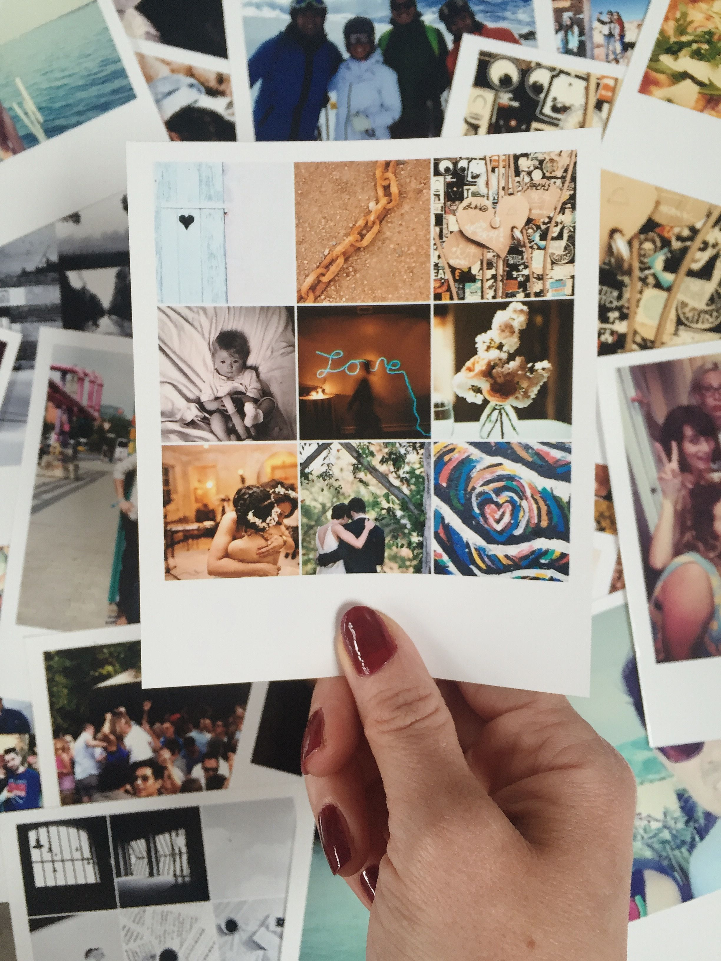 Would you like 9 photos in one? ☺️ #lalalab #prints