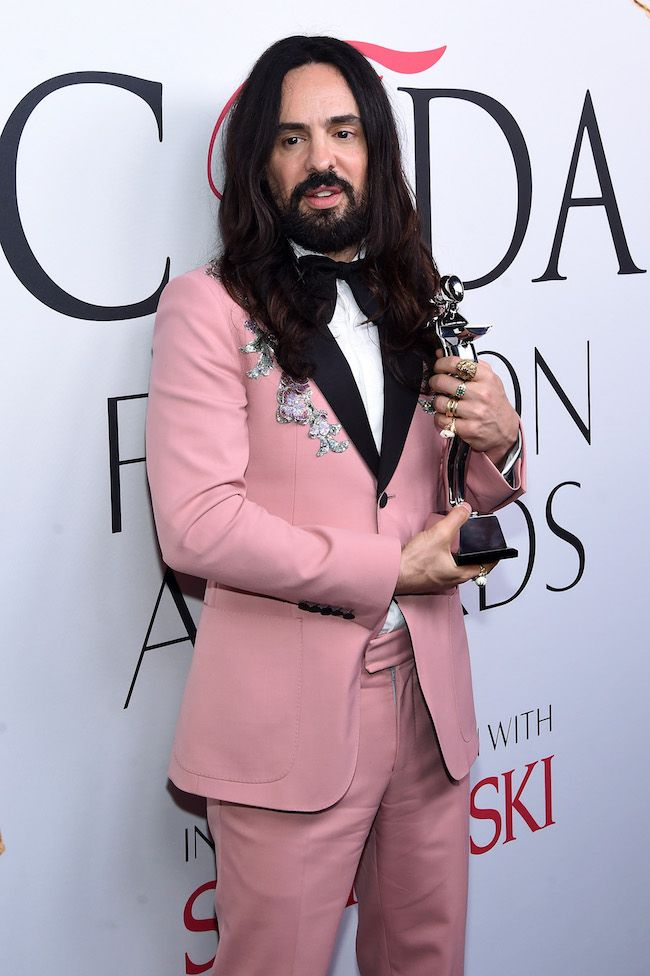 NEW YORK, NY - JUNE 06: Designer Alessandro Michele attends the 2016 CFDA Fashion Awards at the Hammerstein Ballroom on June 6, 2016 in New York City.