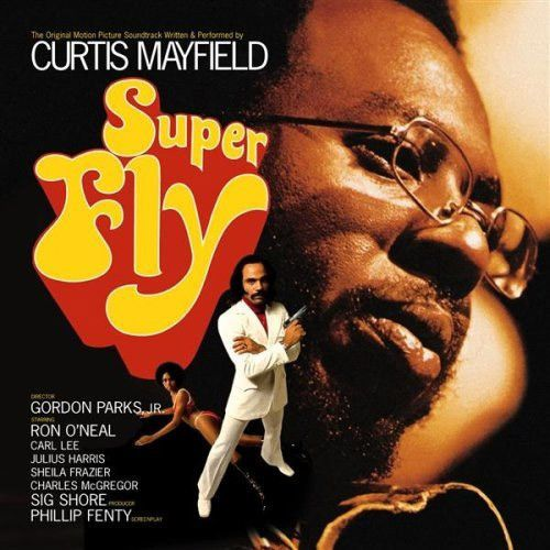 Curtis Mayfield Superfly Vinyl Lp Curtis Mayfield Movie Soundtracks Album Covers