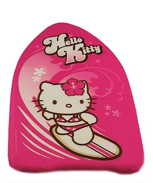 Look what I found on #zulily! Surfing Hello Kitty Kickboard by Hello Kitty #zulilyfinds