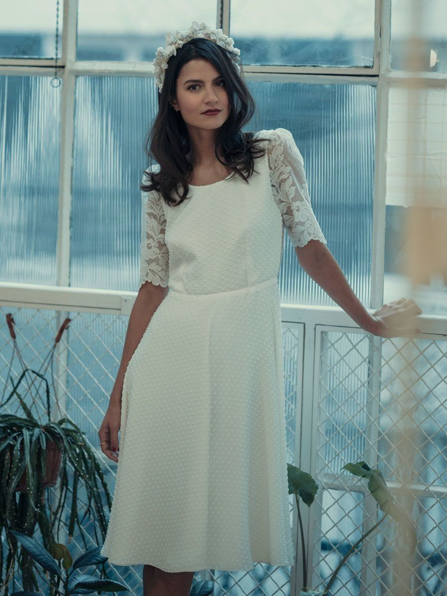 Laure de sagazan spring little white dresses of simple