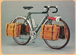 The catalogs of Japanese vintage bicycle Katakura Silk camping bike