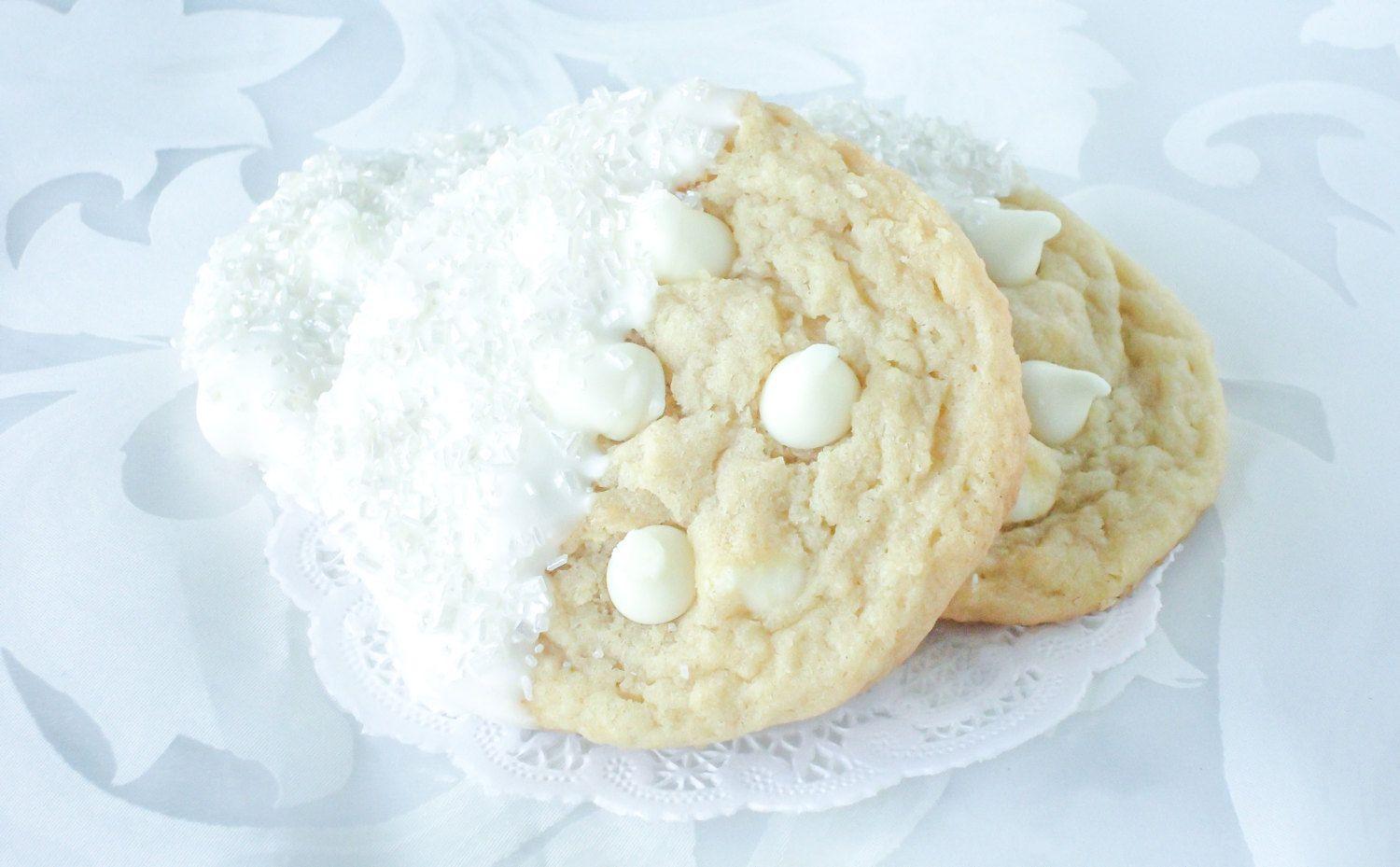 Wedding Favor White chocolate Cookie by LusciousLoafBakery on Etsy ...