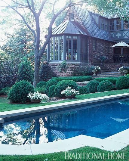 Traditional Garden With Pool: Simply Perfect Alabama Garden