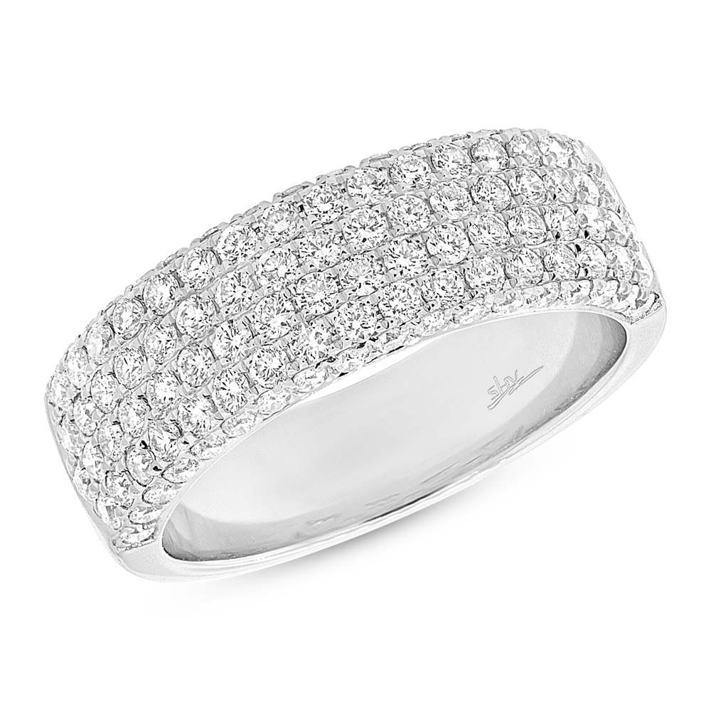 one day by Meredith Dennis Ladies diamond wedding bands
