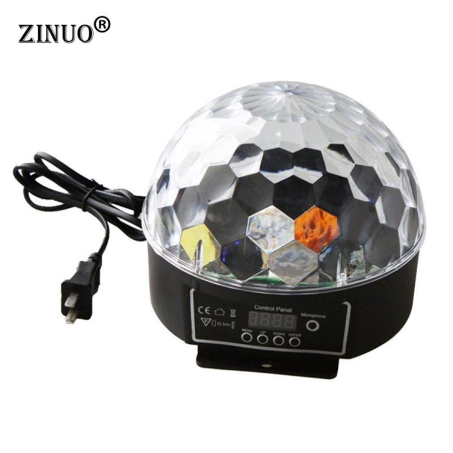 ZINUO Sfera Magica HA CONDOTTO Le Lampade 20 W DMX512 Illuminazione Della  Fase Della Discoteca LED