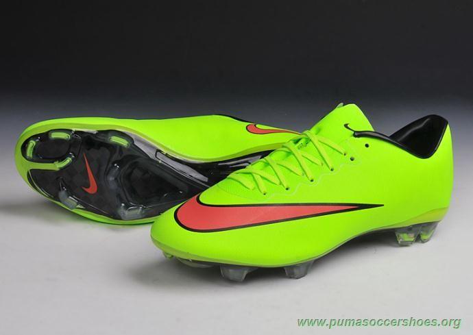 more photos 7113b 7fe75 Mens GREEN FG Nike Mercurial Vapor X For Sale Cheap   Puma ...
