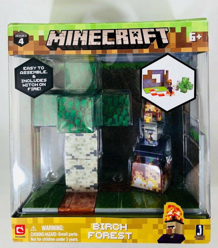Minecraft Birch Forest Biome Playset