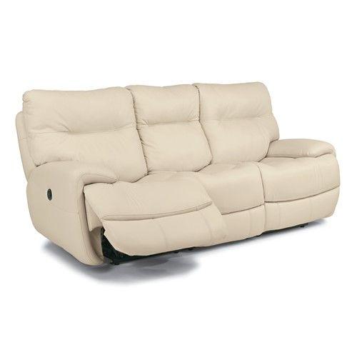 Flexsteel Latitudes Evian Power Reclining Sofa With Fold Down
