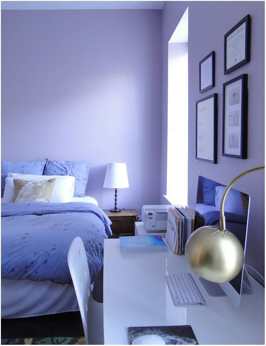 Blue Violet Paint Color Living Room (With images) | Living ...