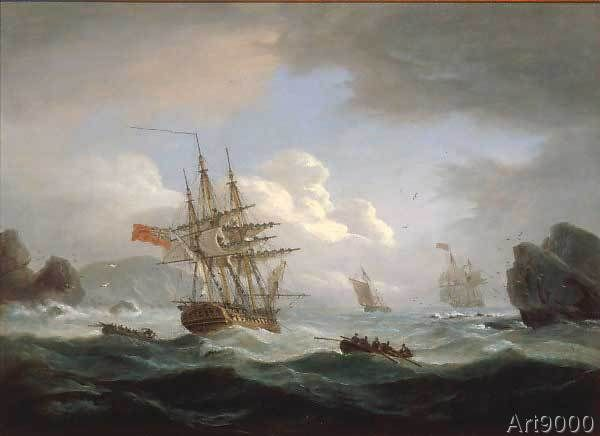 Thomas Luny - Plymouth Sound