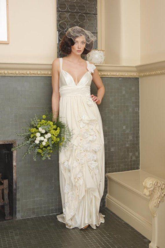 eco-friendly wedding dress. bamboo & organic cotton jersey dress ...