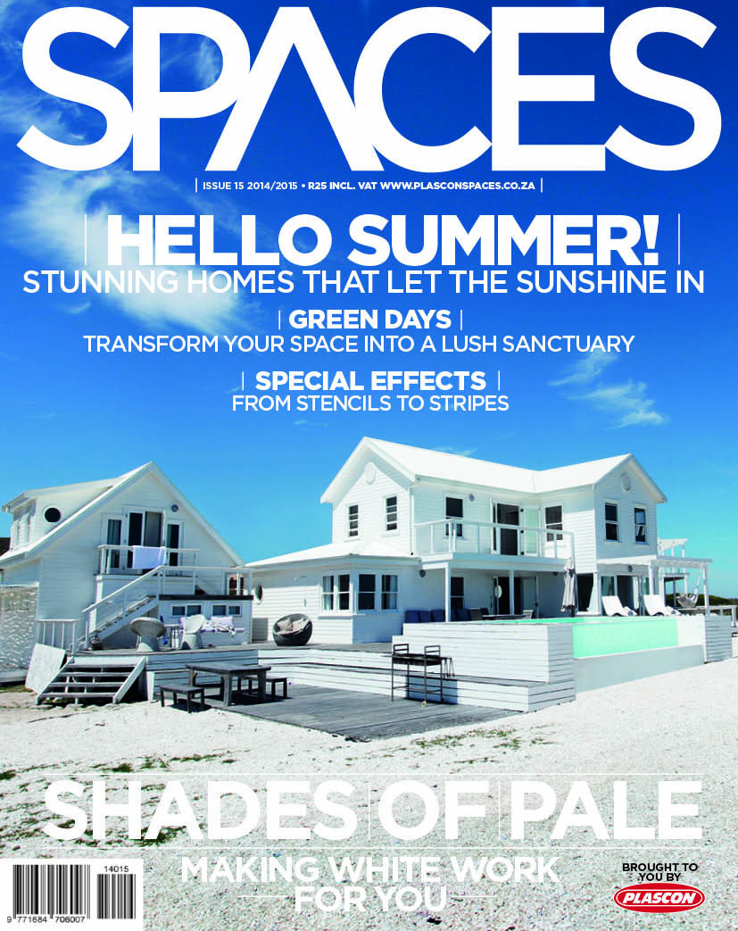 Stunning homes that let the Sunshine in. Plascon Spaces cover