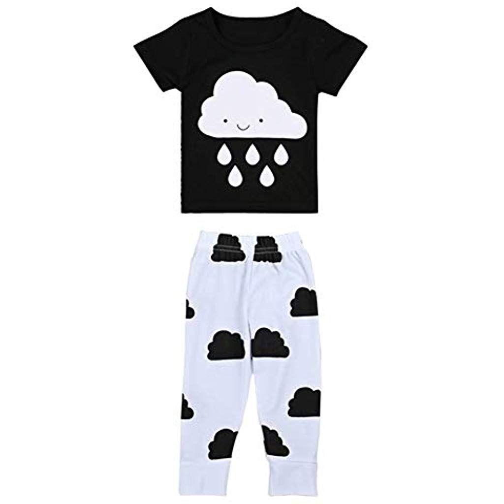 nouvelle collection 537f6 7b822 Coolbabe 0-24 Mois Bébé Fille Garçon Pyjamas Unisexe 2 PCS ...