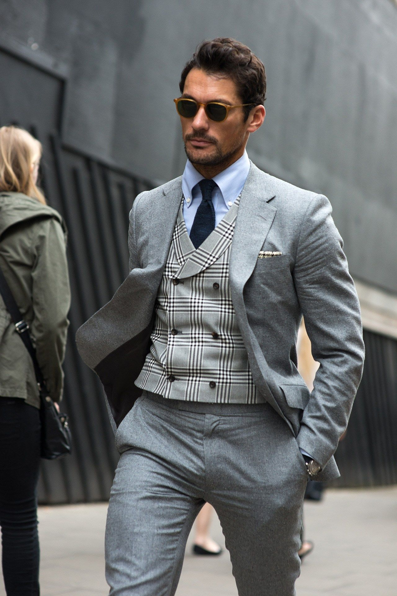 London Collections Men S S 39 16 Street Style Pinterest Gq Street Styles And Tartan