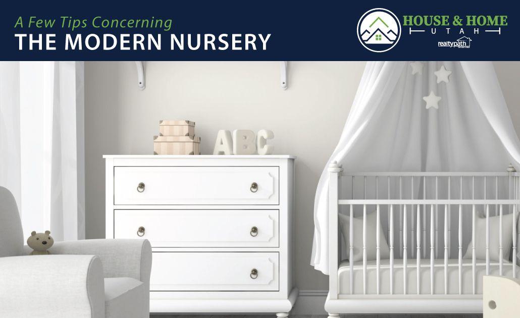 The Modern Baby Nursery