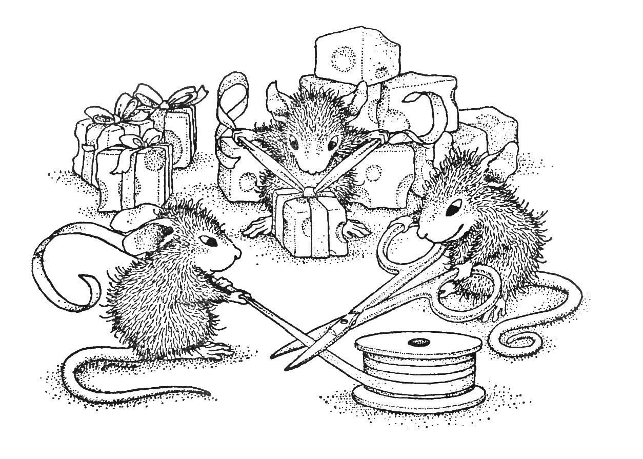 House Mouse Digistamps