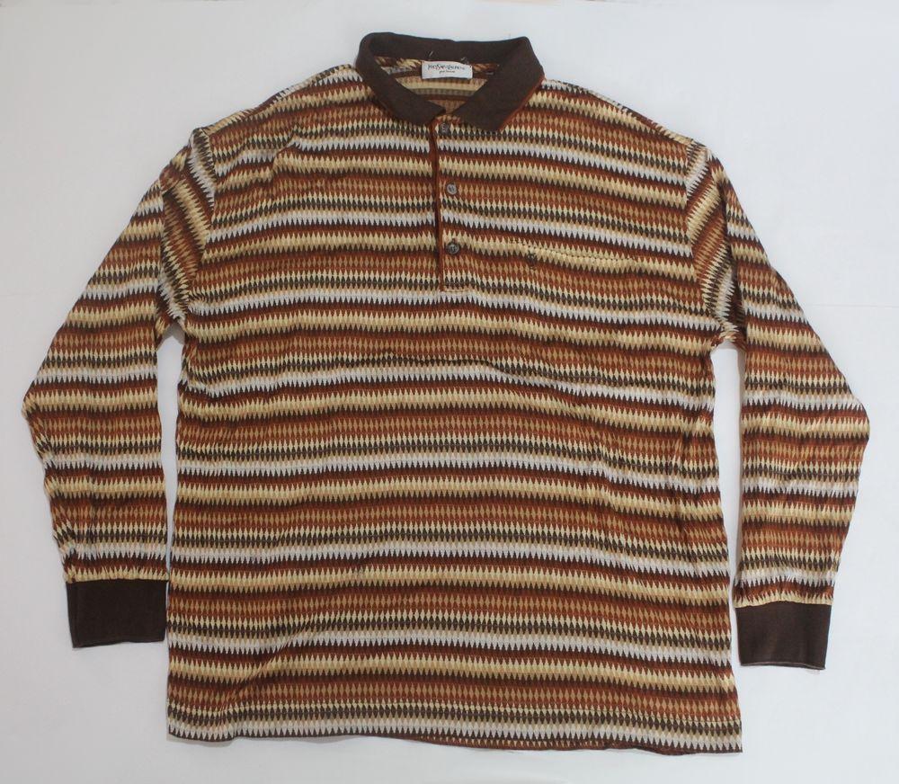 Yves Saint Laurent sweater shirt mens medium ii6jt7gwrU