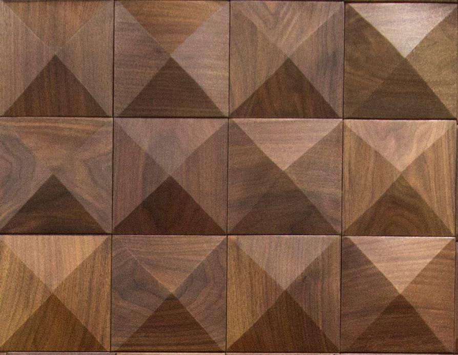 Wood Wall Patterns : Cuttoffs wood wall panel pyramid pattern tile