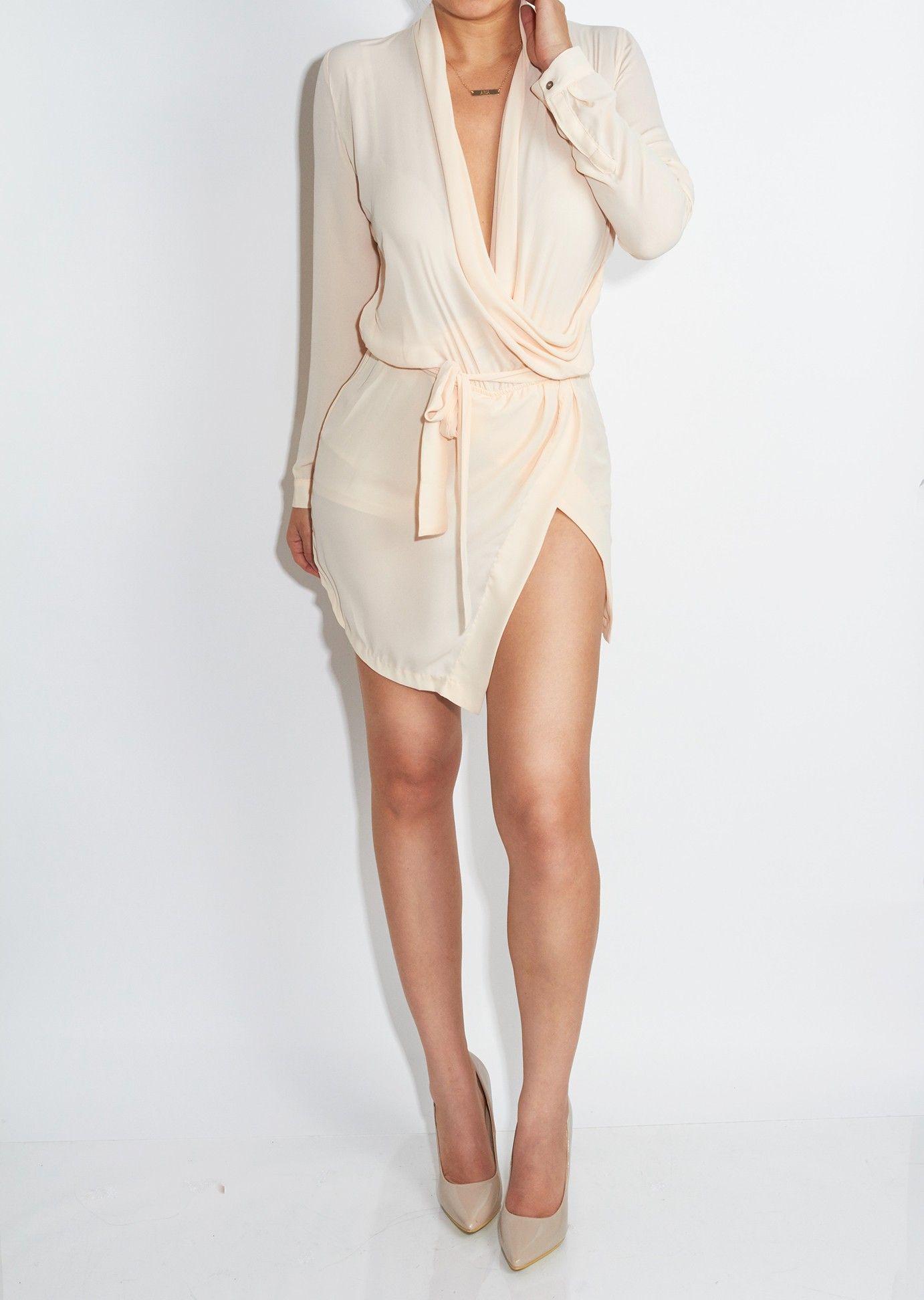 JLUXLABEL French Vanilla Mini Blouse Dress | Jluxlabel | Pinterest ...