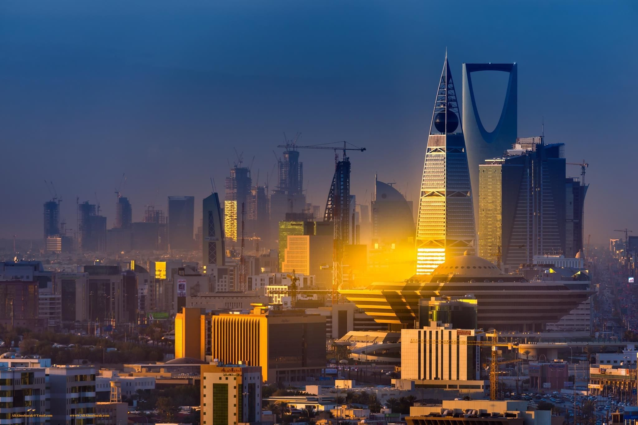 Riyadh Saudi Arabia Riyadh Saudi Arabia Skyline Riyadh