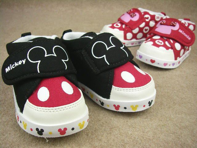 Mickey mouse shoes, Kid shoes, Baby shoes