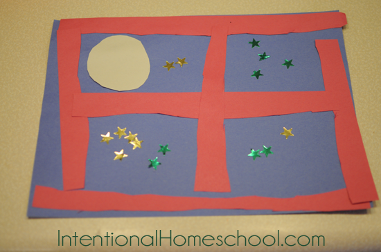 Goodnight Moon Crafts For Preschoolers We Did A Simple Paper Craft