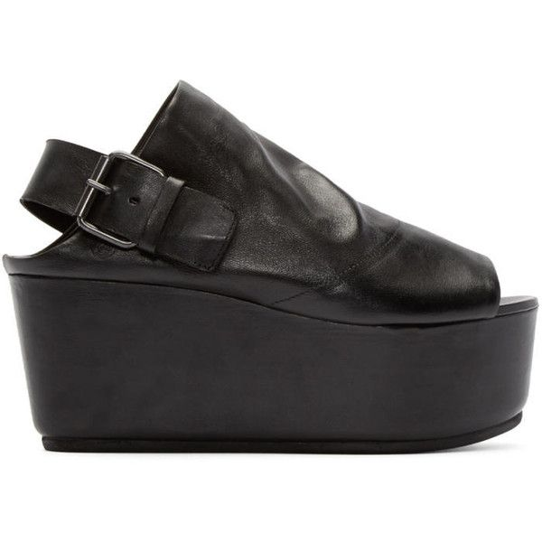 slingback sandals - Black Mars��ll g5deFqW