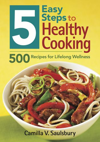 5 easy steps to healthy cooking cookbook that gives the nutrition 5 easy steps to healthy cooking cookbook that gives the nutrition facts for each recipe forumfinder Gallery