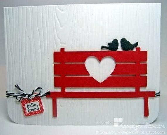 Unique Homemade Valentine Card Design Ideas2 family holiday – Handmade Valentines Card Design