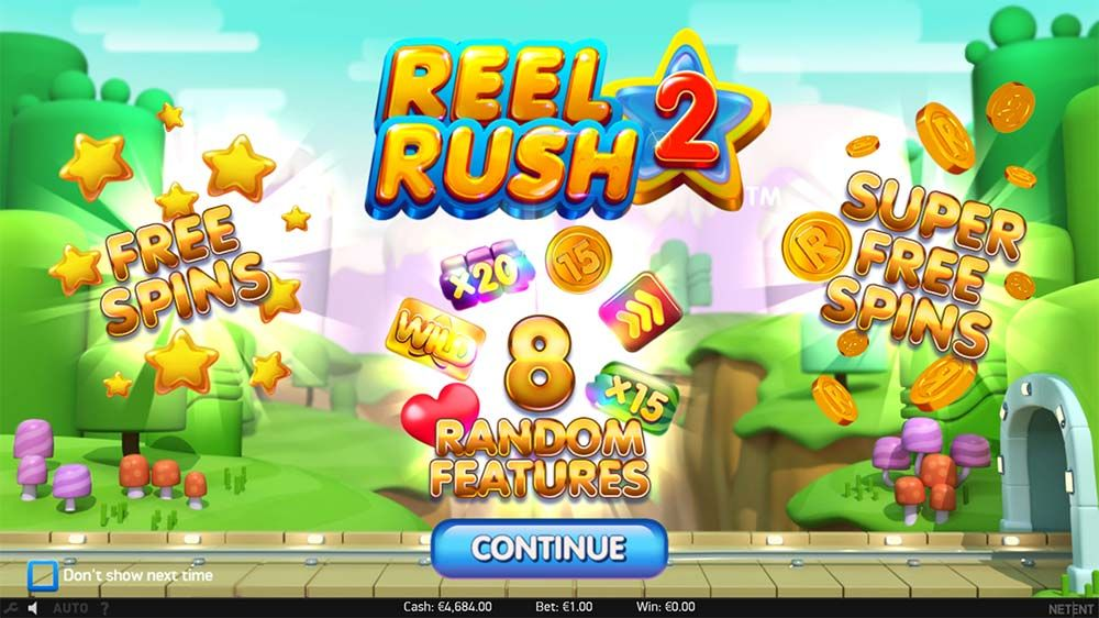 Review and Where to Play the Reel Rush 2 Slot From NetEnt
