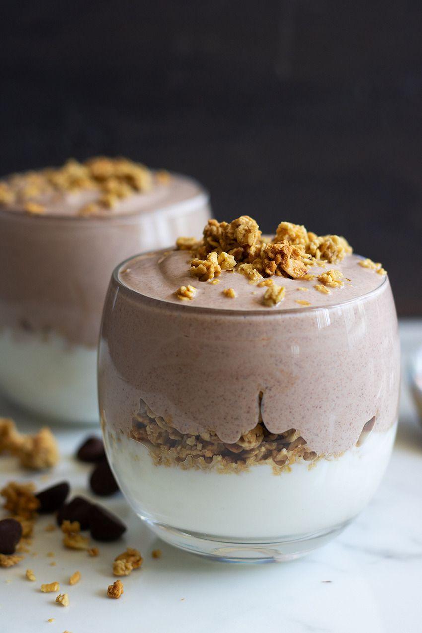 Chocolate and honey greek yogurt cups greek yogurt
