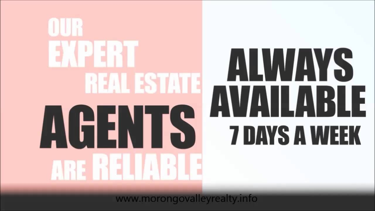 In need of a real estate agent? Call Morongo Valley Realty today! Our agents are happy to help with any and all of your real estate needs! (760)363-6800! Or visit www.morongovalleyrealty.info!