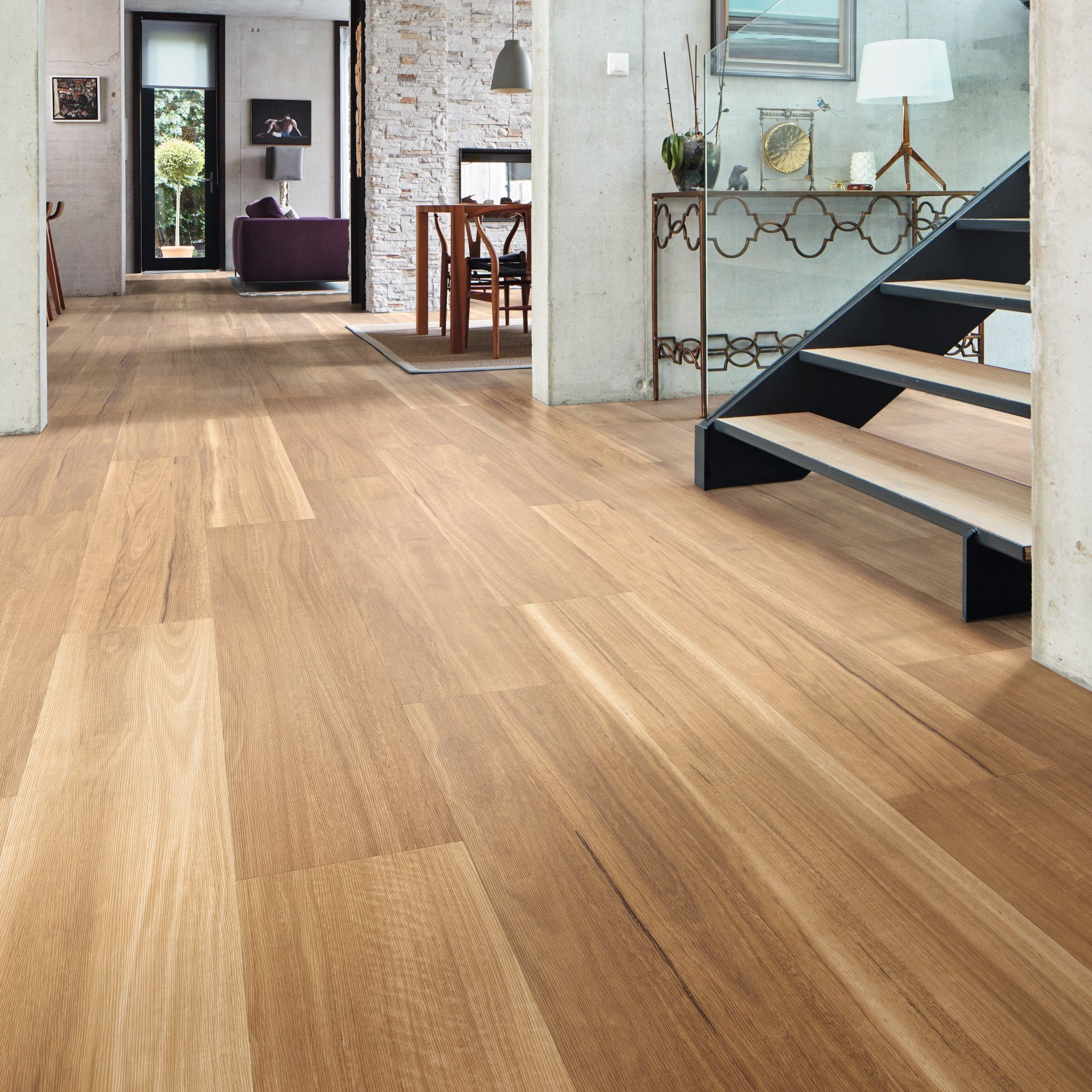 Karndean looselay longboard vinyl flooring collection for Pvc wood flooring