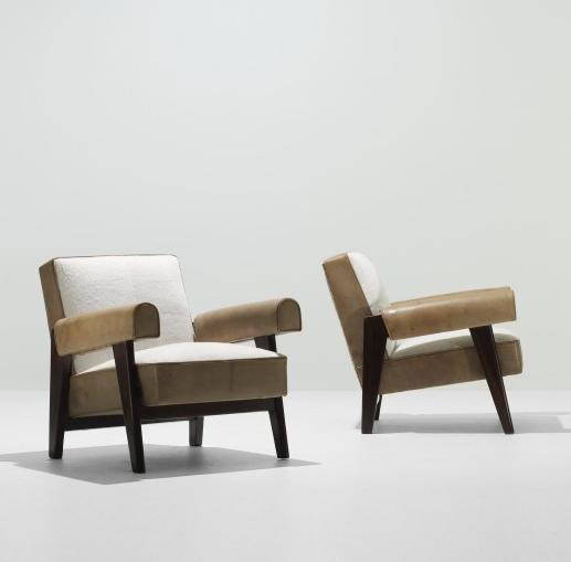 Pair Charlotte Perriand Le Corbusier Scissor Chairs – Pierre Chair