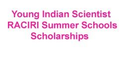 Young Indian Scientists - RACIRI 2017 scholarships