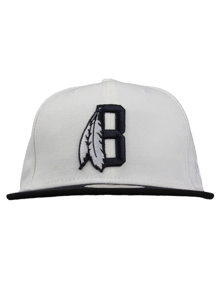 c715adb7 Black Scale Clothing Feather B New Era Hat - White $48.00 #blackscale