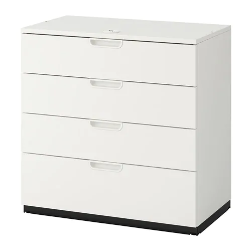 Galant Drawer Unit Black Stained Ash Veneer 31 1 2x31 1 2 With Images Drawer Unit Ikea Galant Drawers