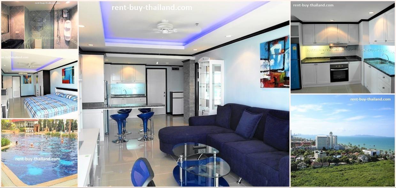Jomtien Beach Reduced Rentals 20 000 Baht A Month Min 6 Months Jomtien Beach Condominium Sea View 1 Bed One Bedroom Apartment Modern Condo Condo