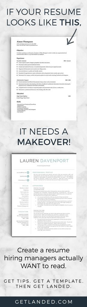 80 of candidates desperately need a resume makeover! Get a resume - how a resume looks