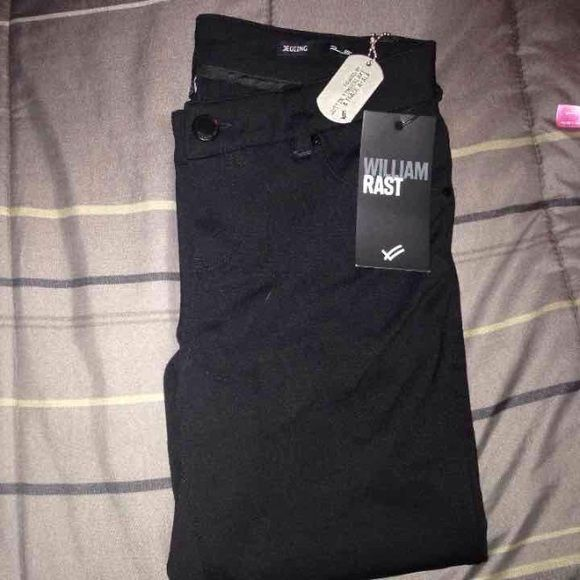 beac276d82040 William Rast Jeggings Size 28 Brand new never worn with tags. William Rast,  branded by Justin Timberlake. Size 28 women's. Very soft jegging .
