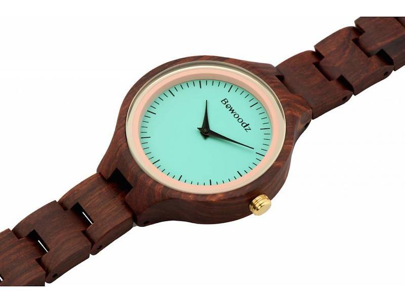 Armbanduhr damen  Bewoodz Holzuhr #Holzuhr #Holzuhren - Uhr aus Holz - Damen ...