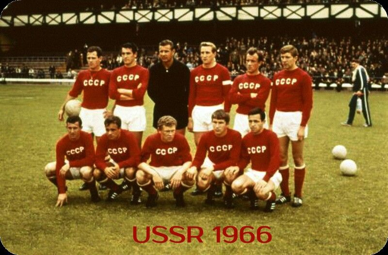 Ussr Team Group At The 1966 World Cup Finals World Cup Soccer World World Cup Teams