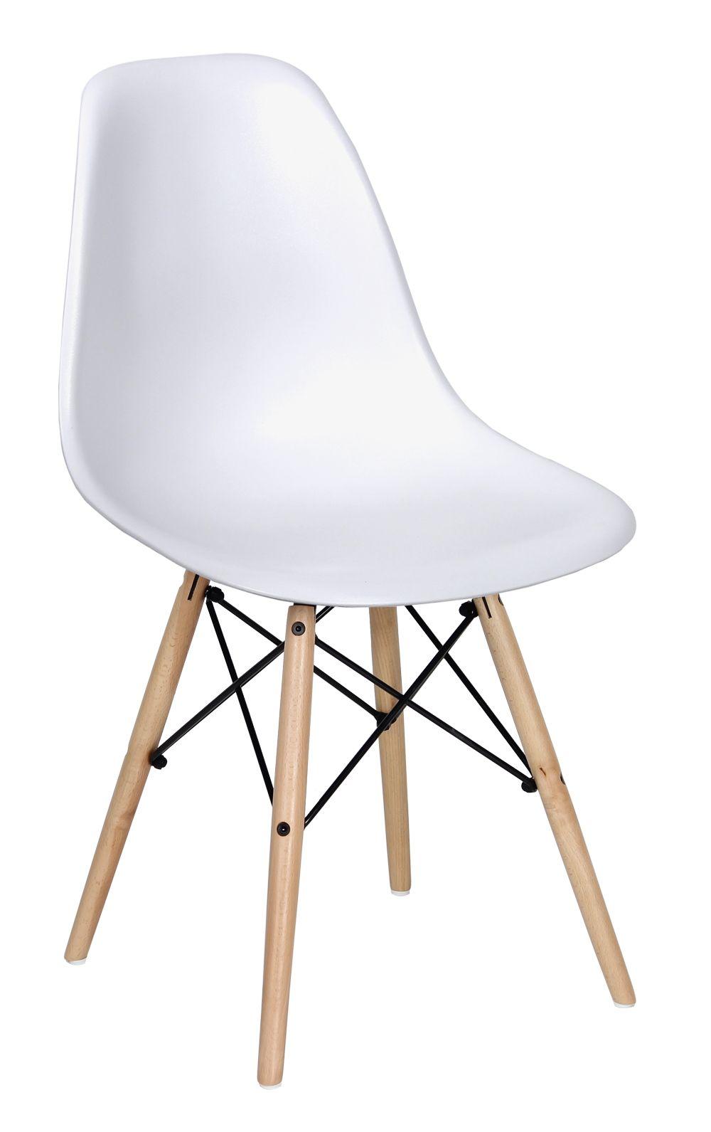 Chaise Design Scandinave Diva Chaise De Bureau Blanche Chaise