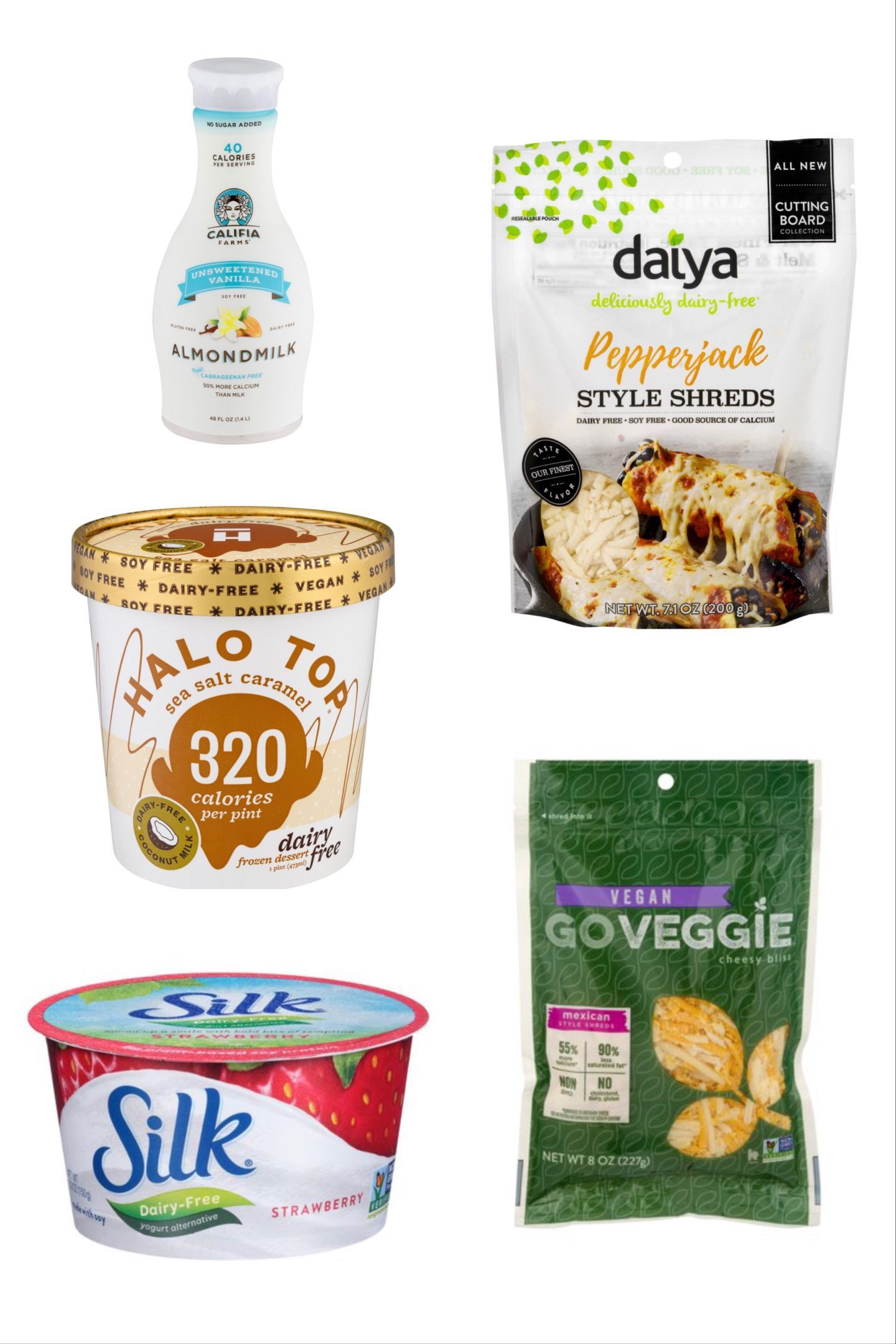 My Favorite Dairy Free Brands And Products In 2020 Dairy Free Yogurt Brands Dairy Free Gluten Free Ice Cream Dairy Free Creamer