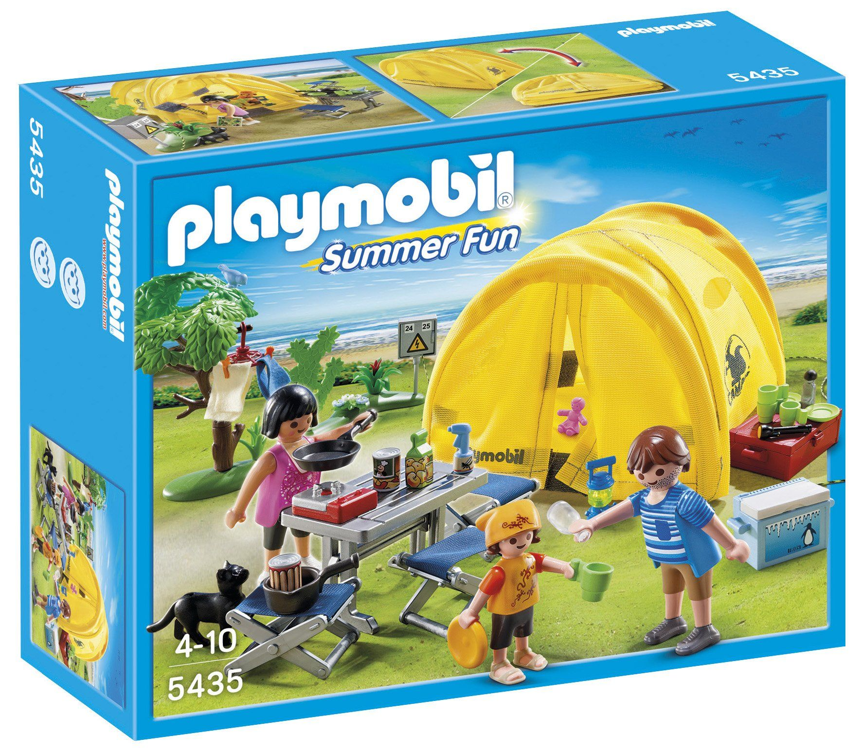 Amazon Com Playmobil Family Camping Trip Playset Toys Games Playmobil Play Mobile Familie Camping